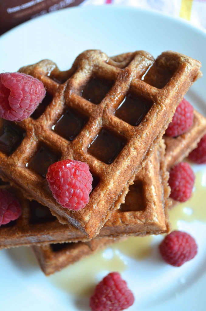 chocolate milk waffles 9