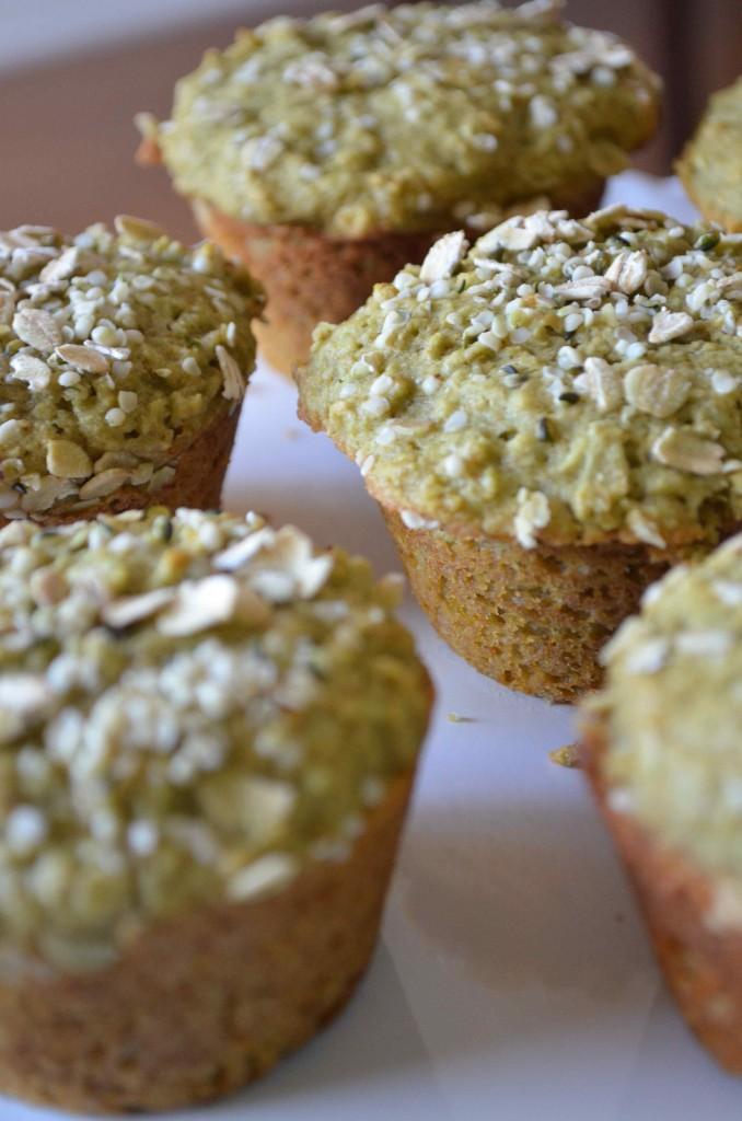 matcha muffins 3