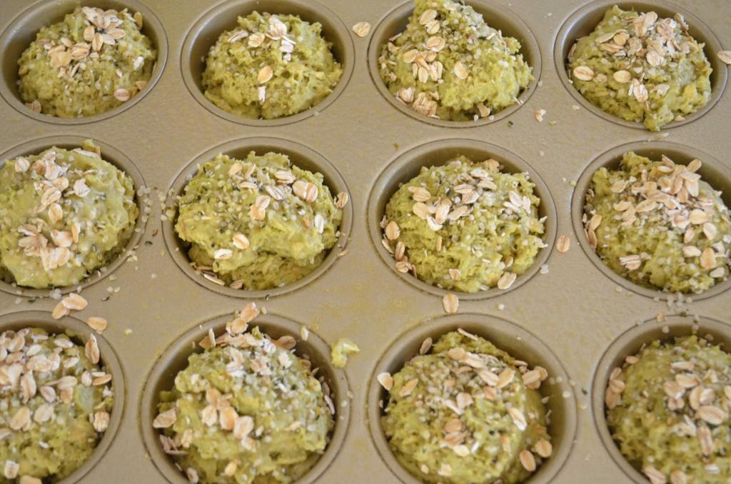 matcha muffins 9