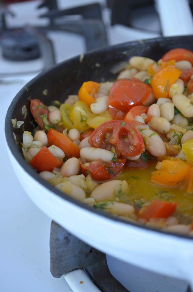 tomato and beans 10