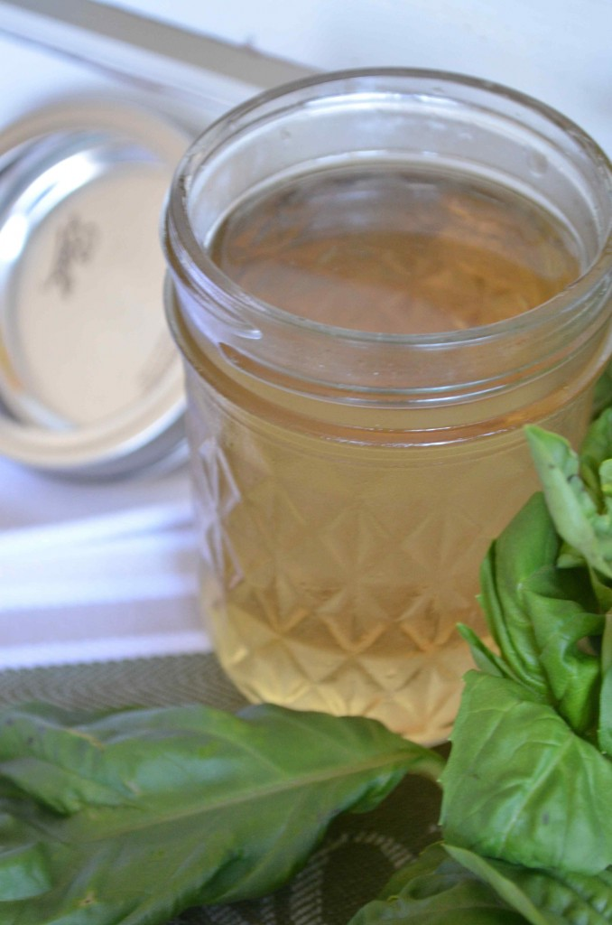 basil simple syrup 3