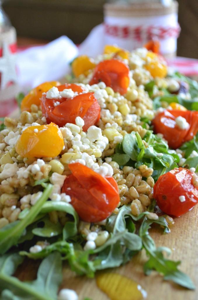 farro salad maria provenzano