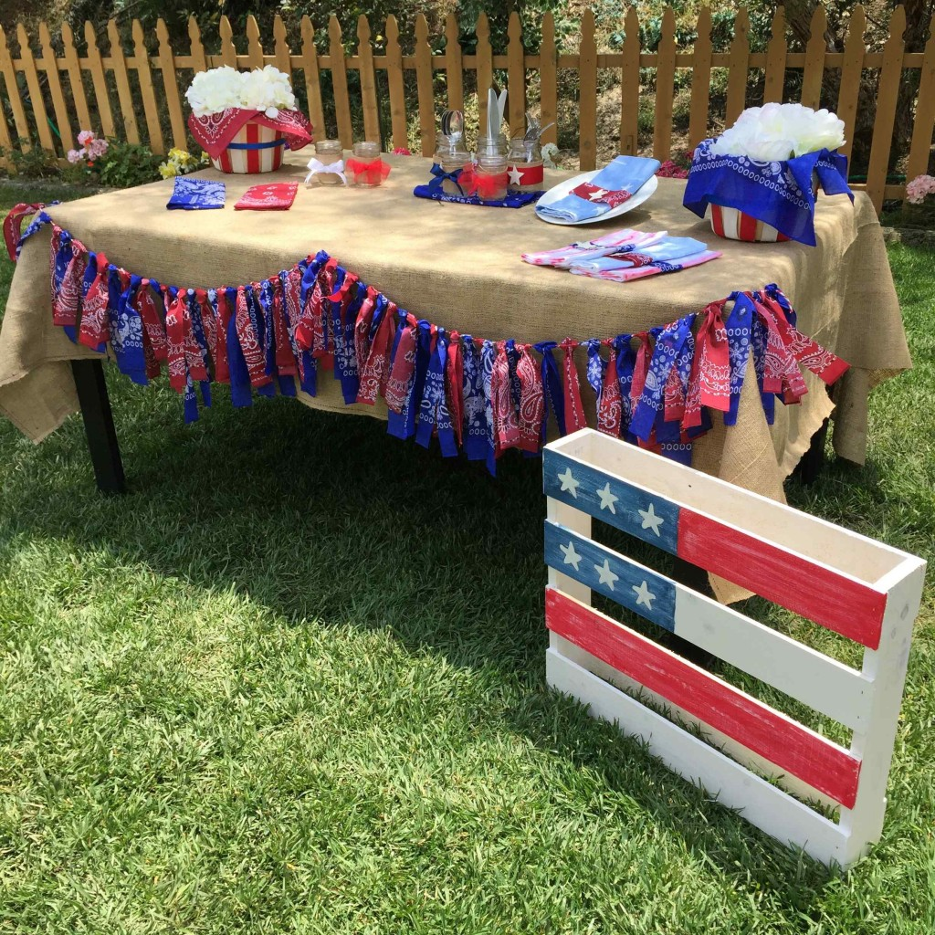 flag pallet maria provenzano home and family