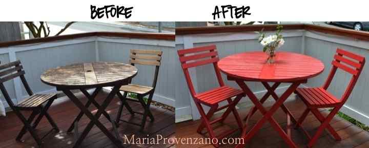 red table maria provenzano