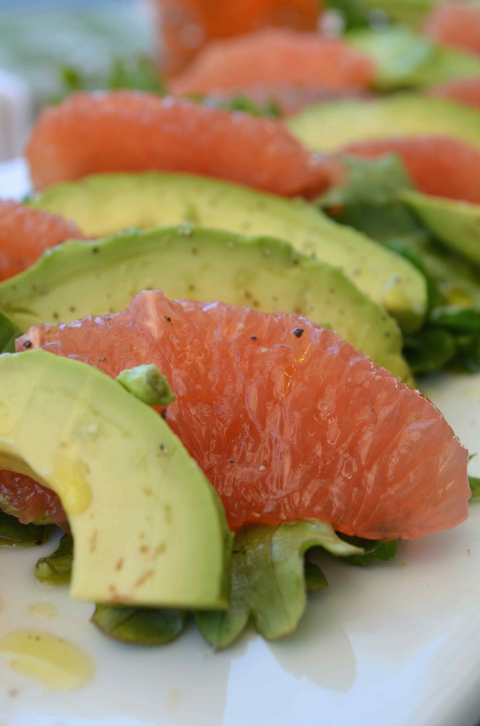 avocado grapefruit