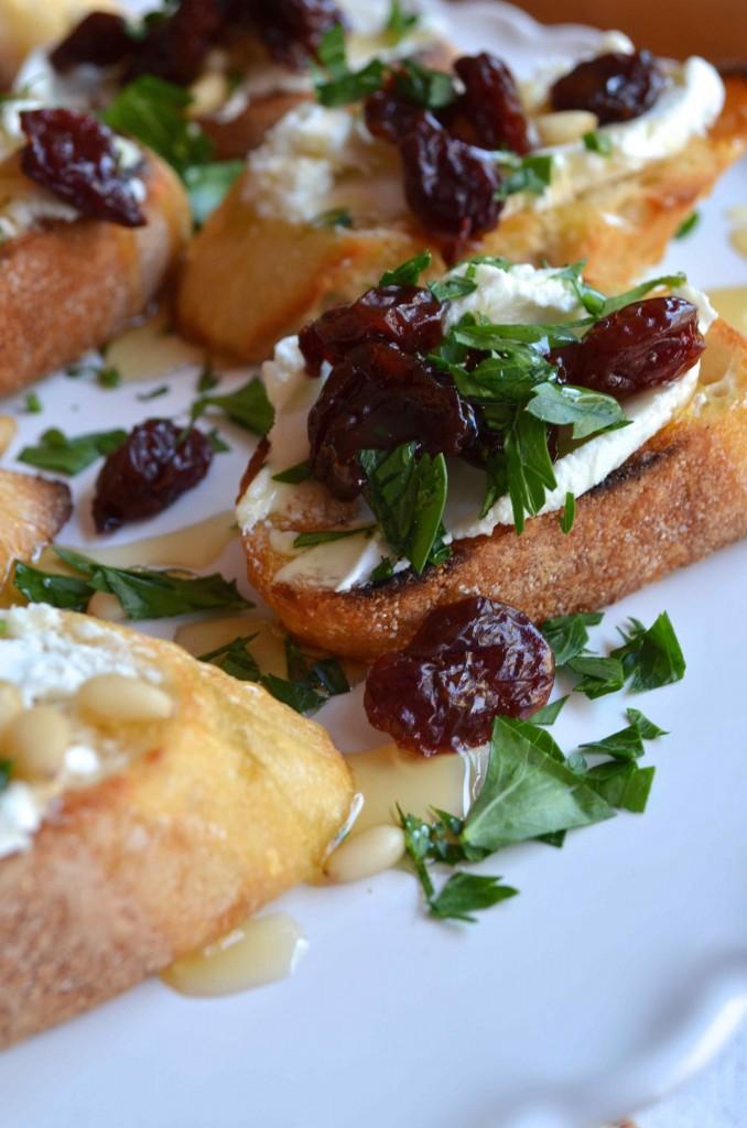 cherry crostini maria provenzano