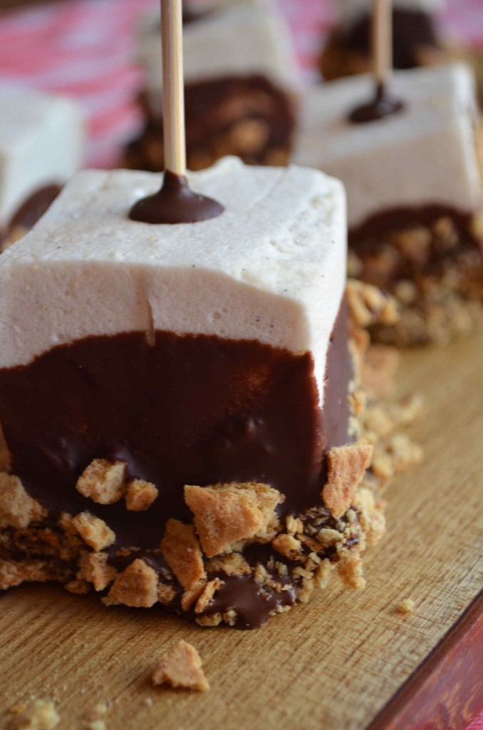 s'more on a stick from scratch with maria provenzano