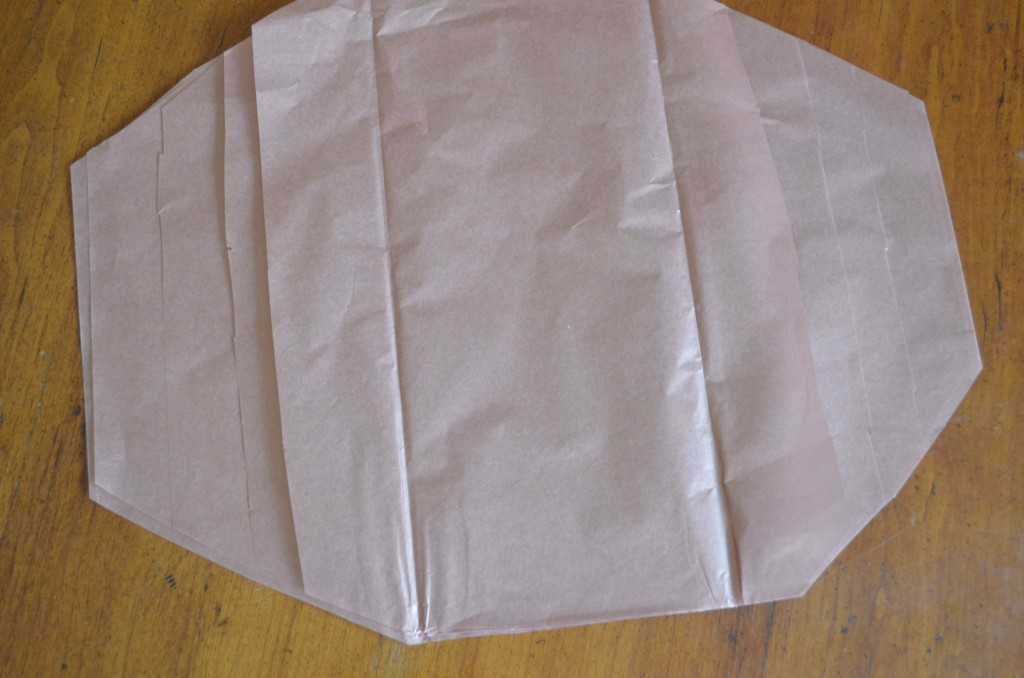 tissue paper football