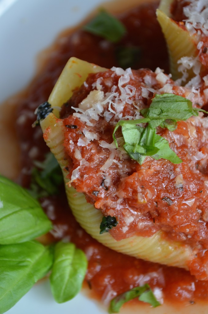stuffed shells from scratch with maria provenzano