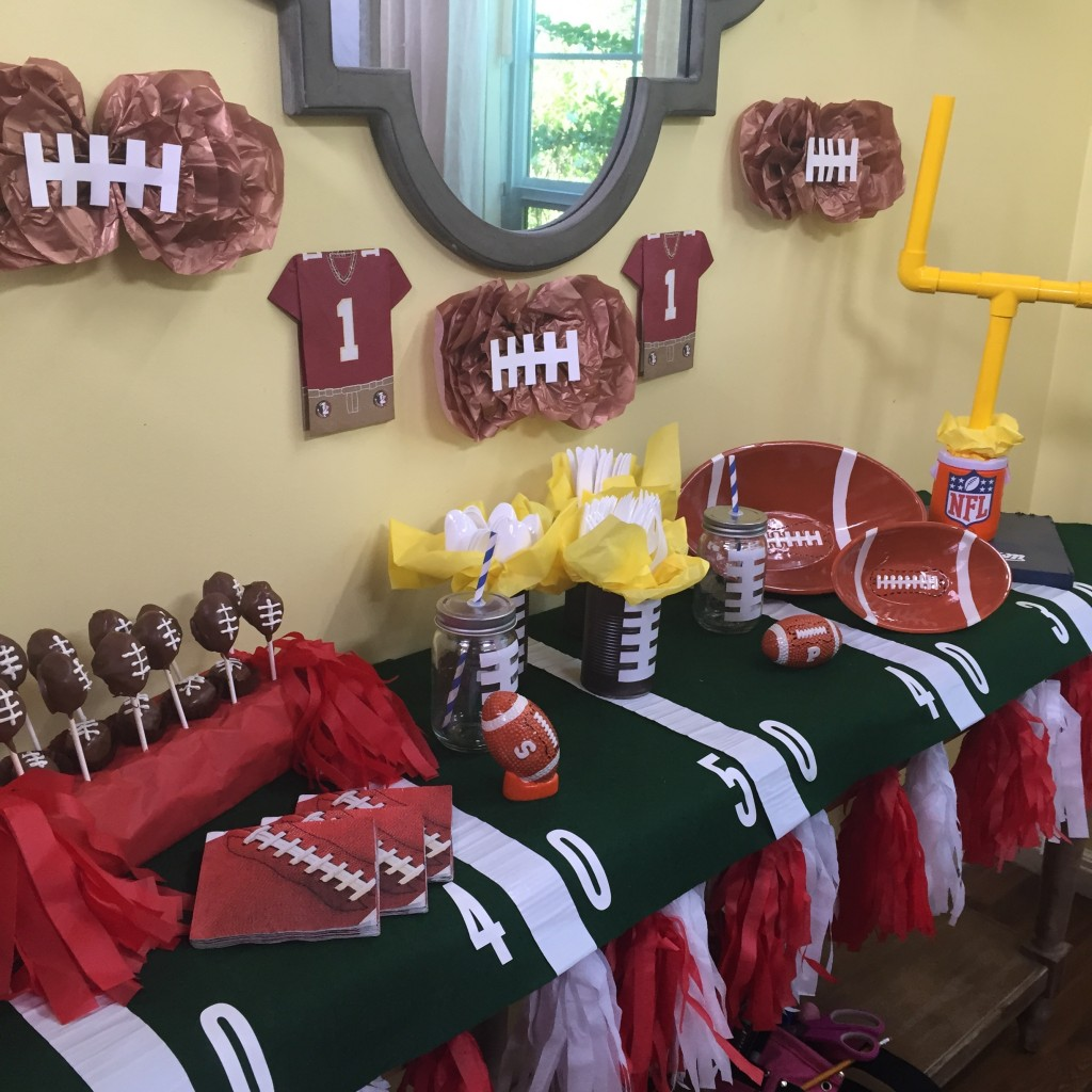 football DIY from scratch with maria provenzano on hallmarks Home and family