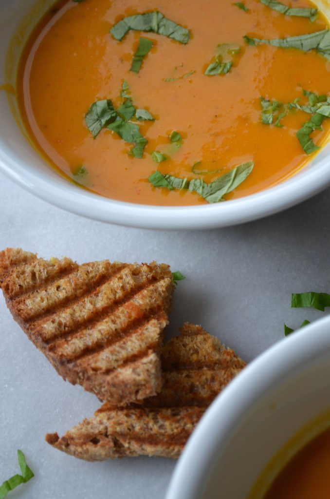 The easiest tomato soup ever from scratch with maria provenzano. Click for recipe!
