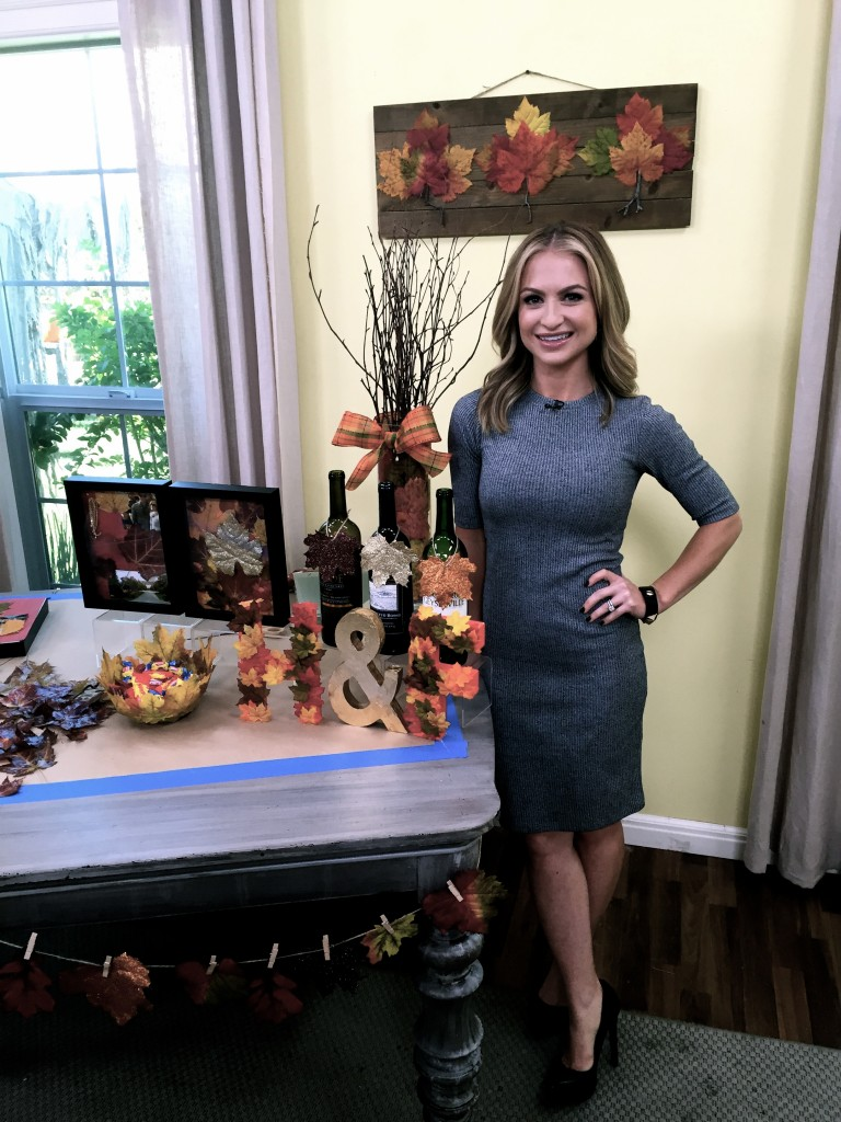 Fall Crafting on Hallmark's Home and Family Show