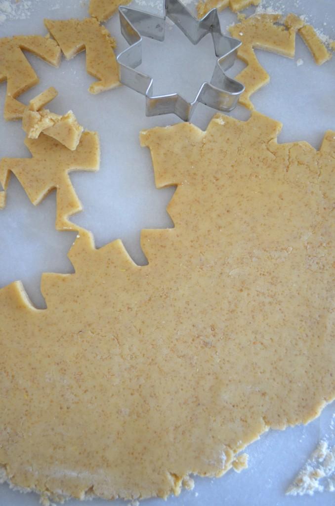 Brown Sugar and Pine Nut Shortbread Cookies