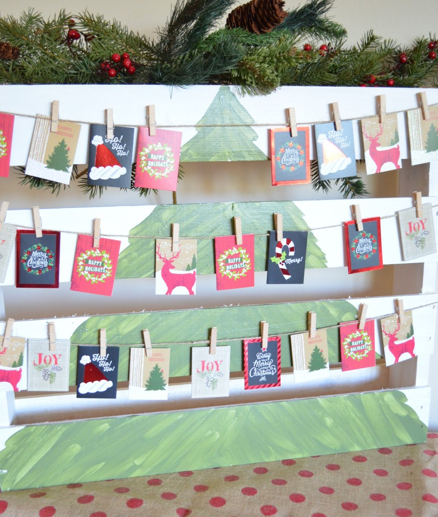 Active Advent Calendar With A DIY Christmas Wood Pallet