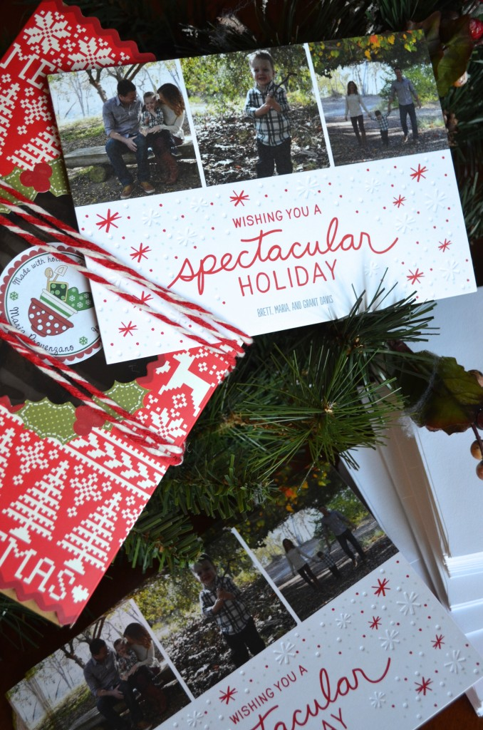 Christmas Cards and Cookies Special Delivery