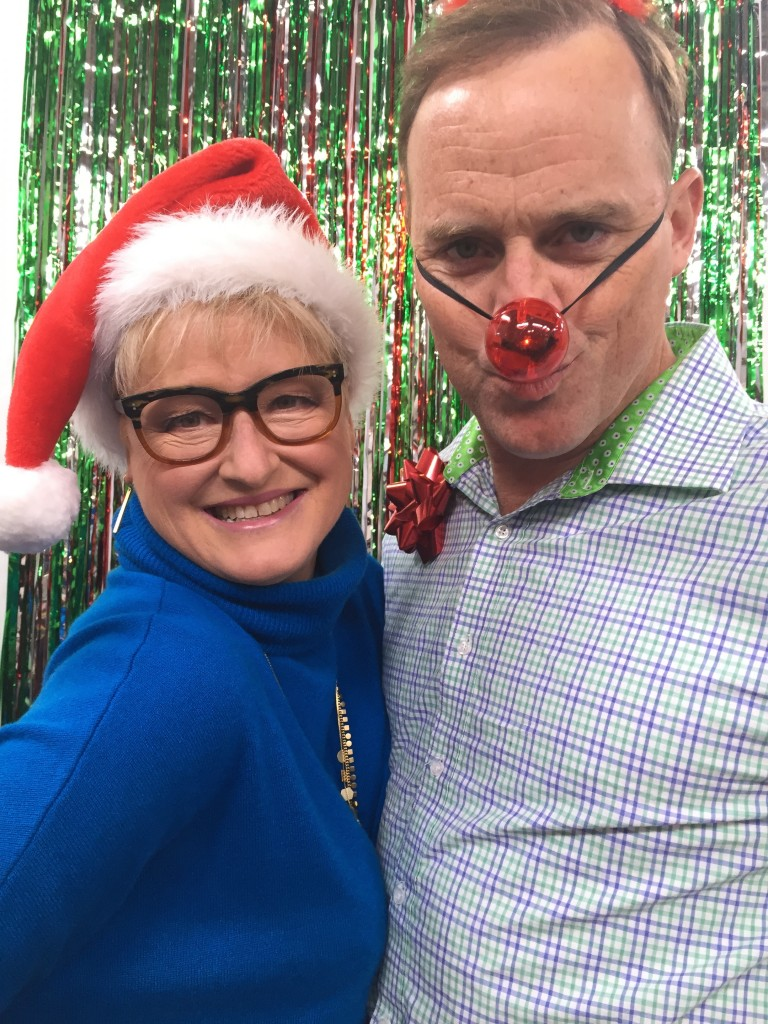 Holiday Party DIY Photo-booths on The Hallmark Channel's Home and Family