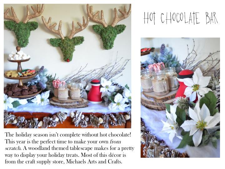 DIY Hot Chocolate Bar on Hallmark's Home and Family