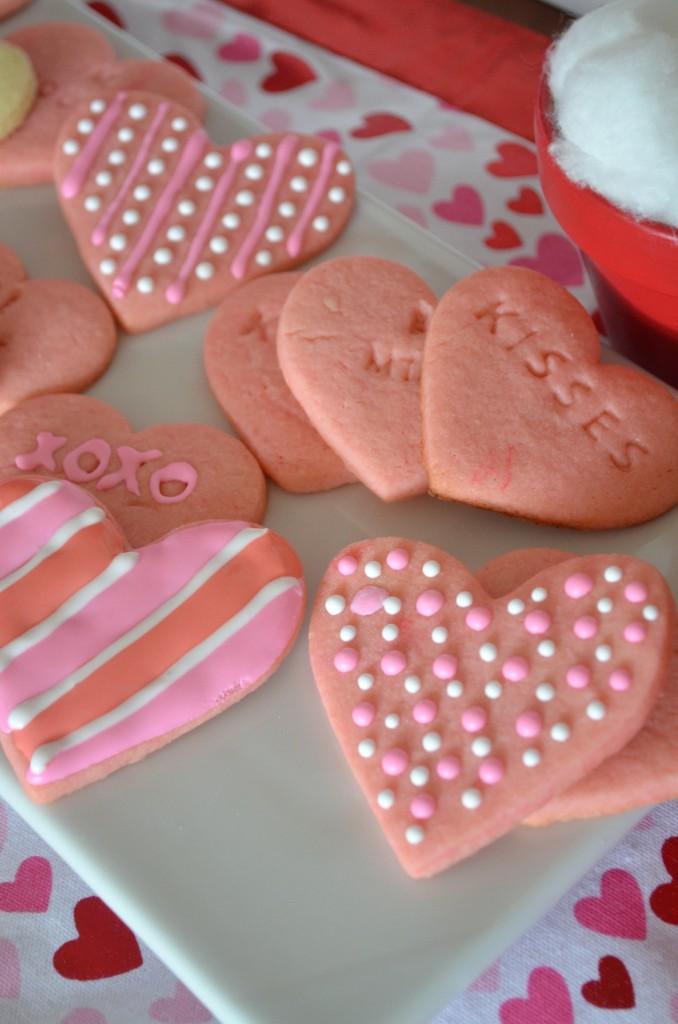 Valentine's Day Conversation Hearts Click for Recipe