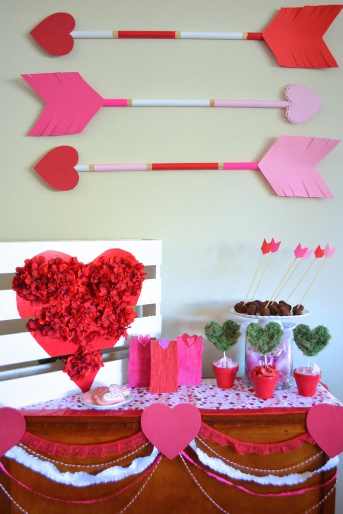 Cupid's Arrow Valentine's Day DIY