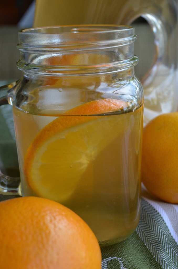 Orange Infused Green Tea