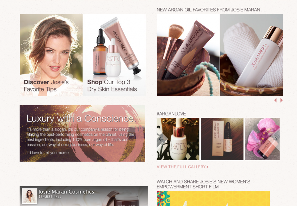 Josie Maran Giveaway From Scratch With Maria