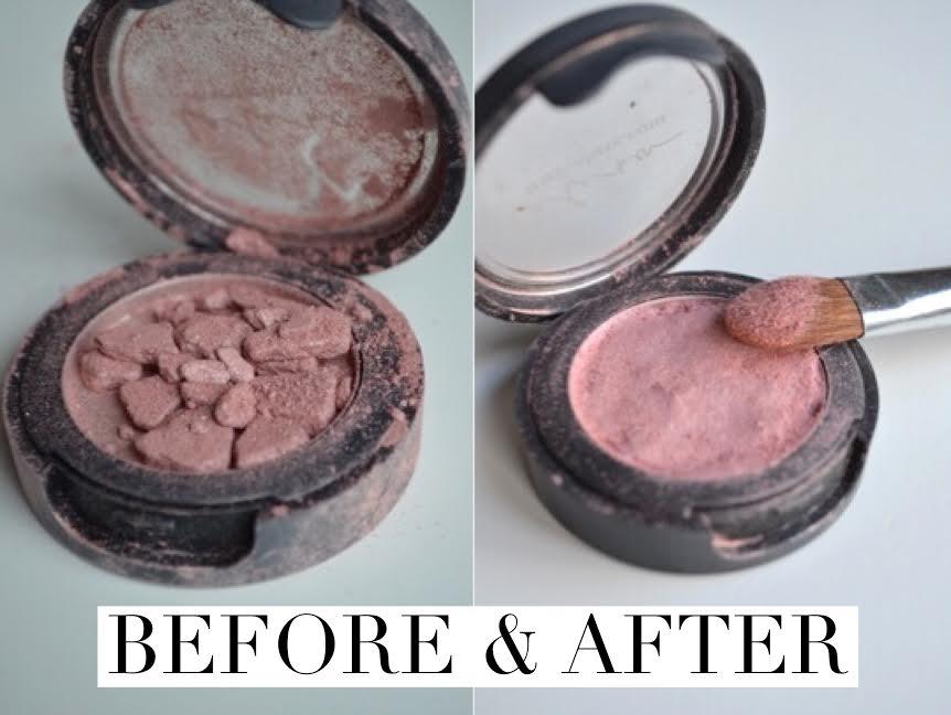 How to fix broken make-up!