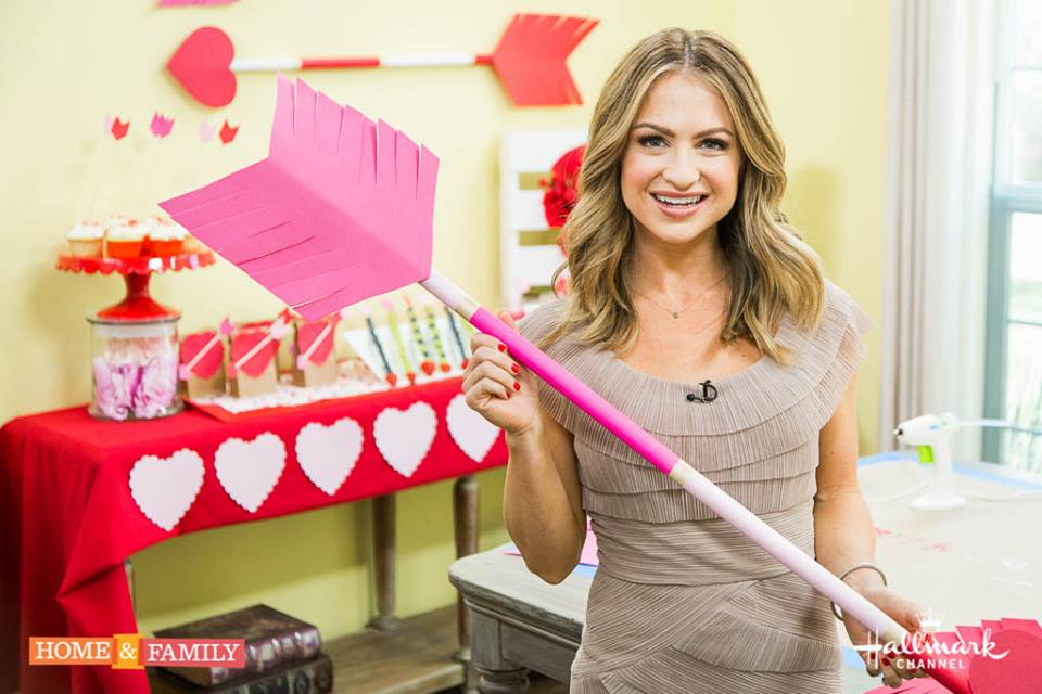 Maria Provenzano Lifestyle Expert on The Hallmark Channel's Home and Family
