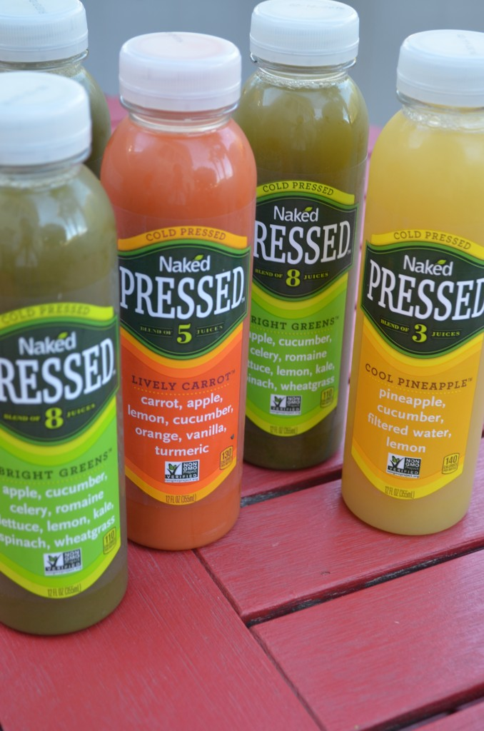 Finding Time For Veggies with Naked Cold Pressed Juice