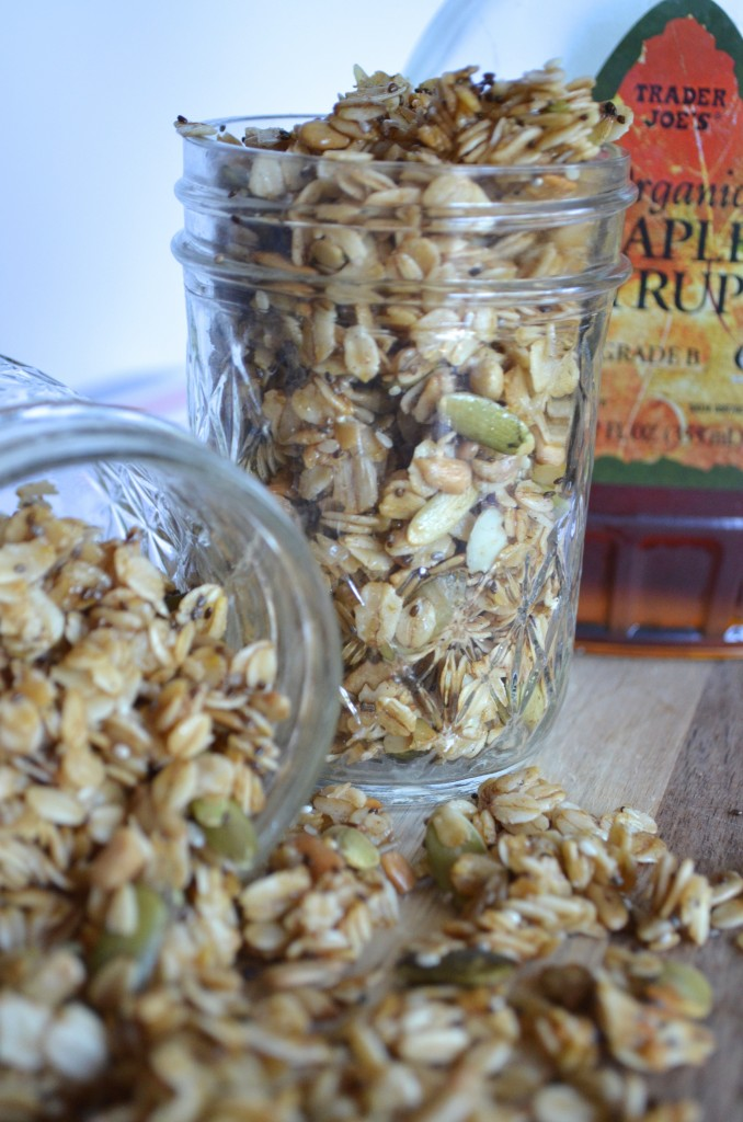 Maple and Chia Seed Granola