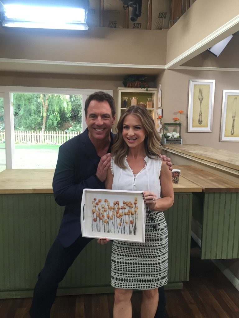 Epoxy Crafts on The Hallmark Channel's Home and Family Show