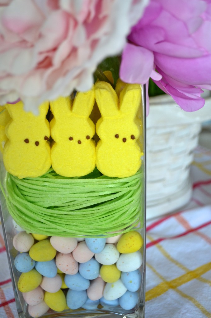 DIY Easter Floral Decor with PEEPS!