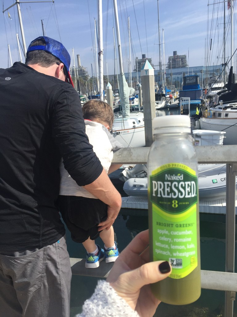 Adventures With a Toddler and Keeping Healthy With Naked Cold Pressed Juice