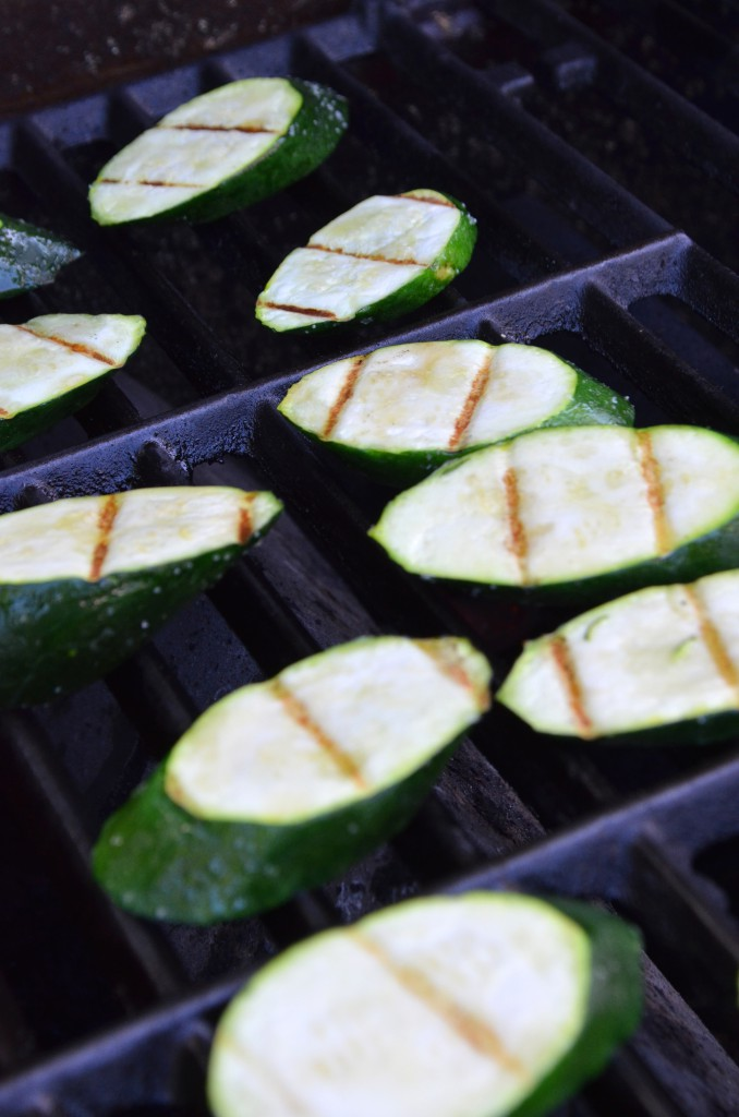 Easy Grilled Zucchini with Feta