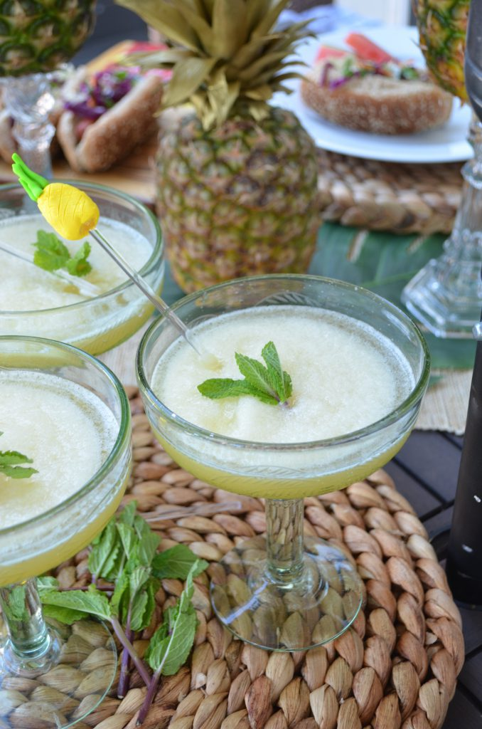 Pineapple and Mint Margarita