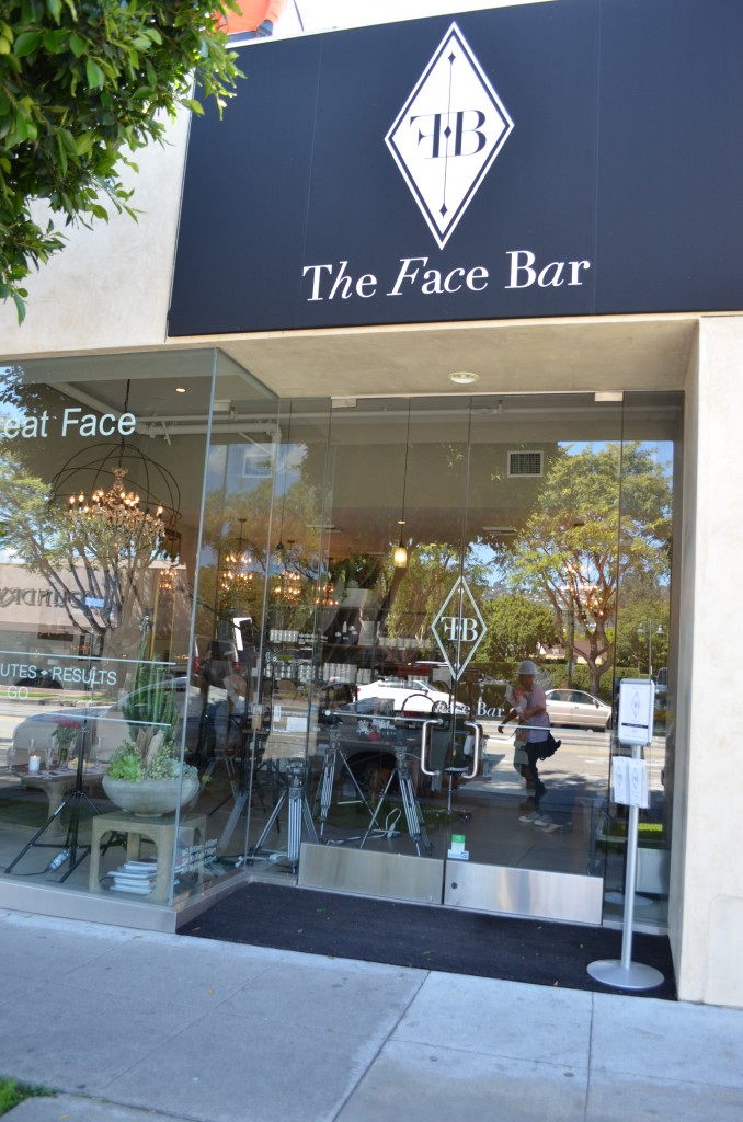 Great Face with Face Bar LA
