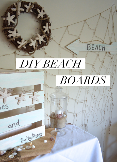 DIY Beach Boards