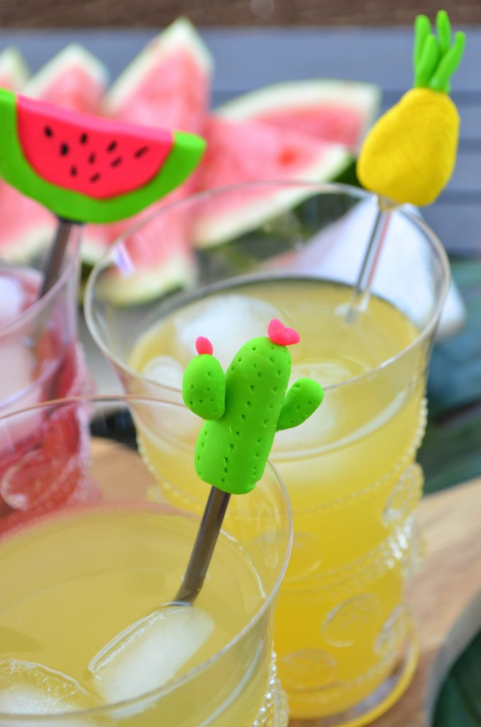 DIY Summer Pineapple, Cactus, and Watermelon Drink Stirrers From Scratch With Maria Provenzano