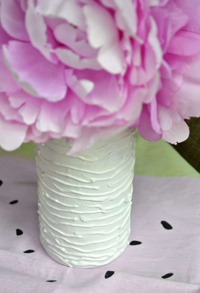 Repurposed DIY Spin Vase Inspired by Juliska and Crate and Barrel