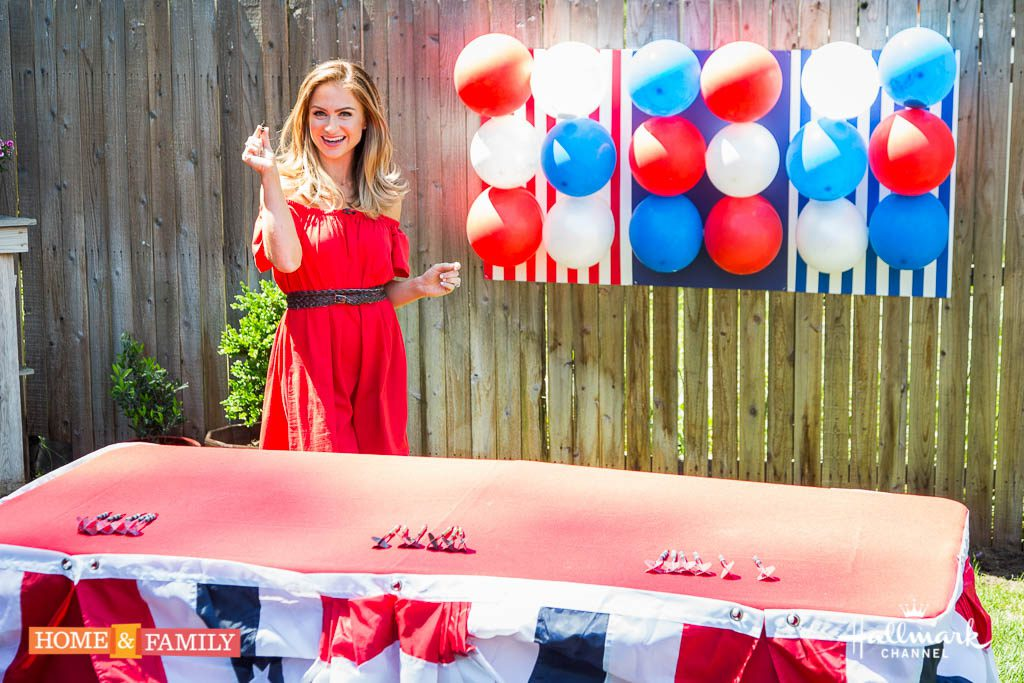 DIY Patriotic Dart Game on Hallmark's Home and Family Show
