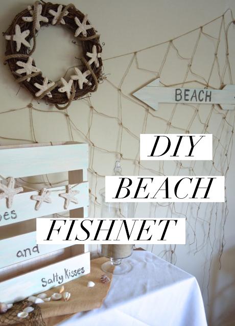 DIY Beach Fishnet