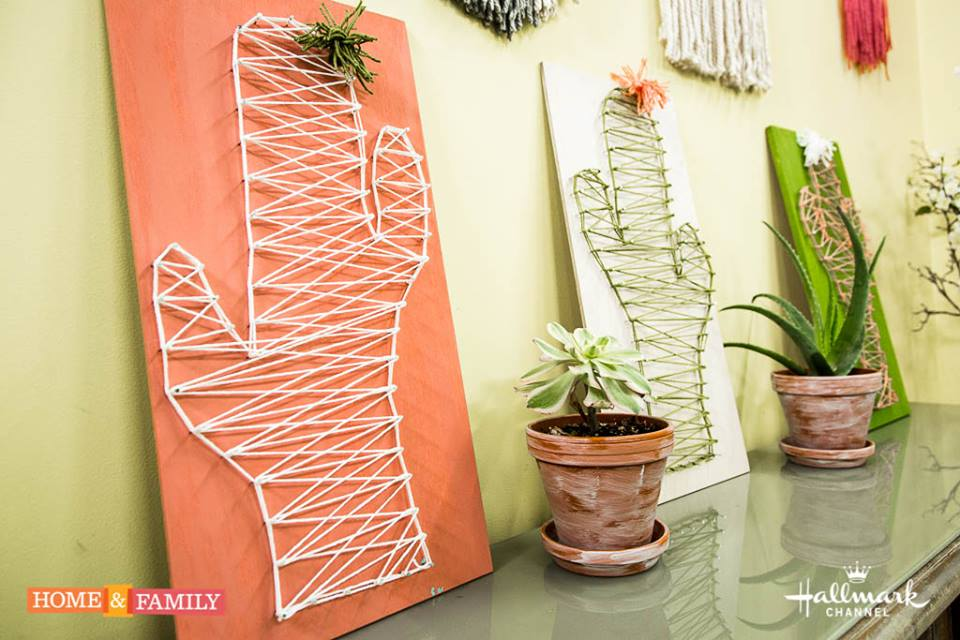 Yarn Art on The Hallmark Channel's Home and Family Show