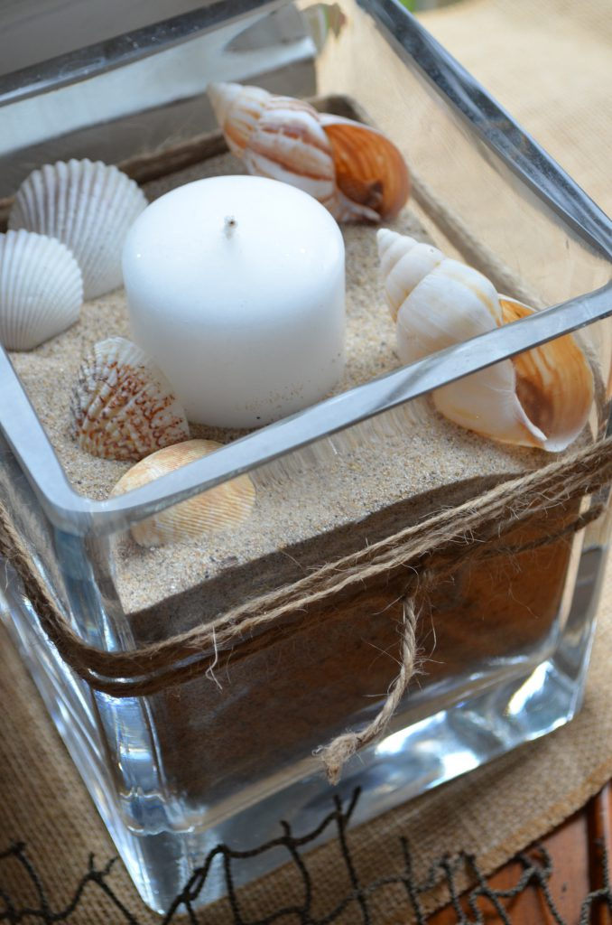 DIY Patriotic Sand Candles and Beachy Sand Candles