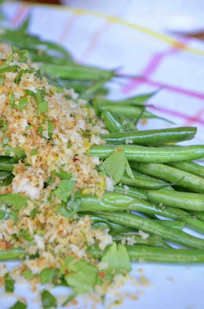 Sautéed Green Beans with Lemony Gremolata