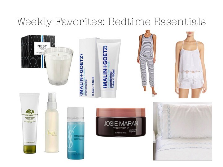 Weekly Favorites: Bedtime Essentials Maria Provenzano