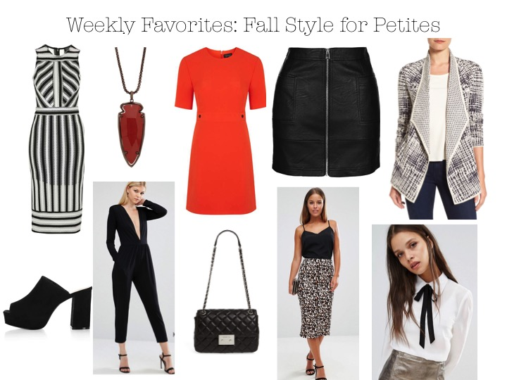 Weekly Favorites: Fall Style For Petites