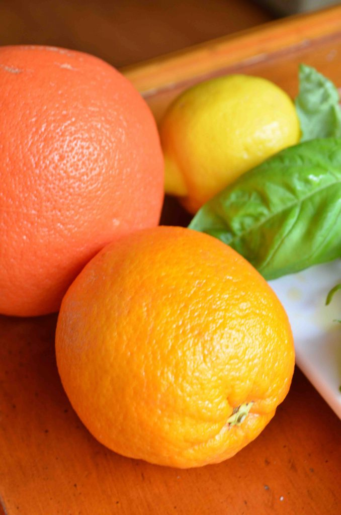 Sicilian Citrus Salad with Goat Cheese