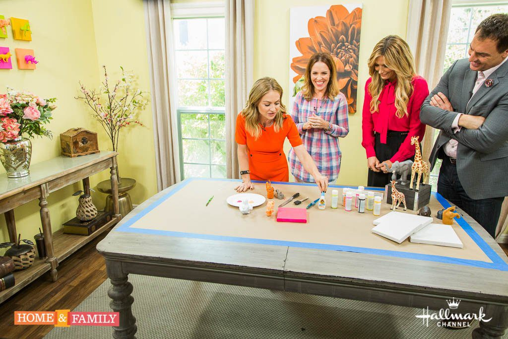 Animal Wall Art on The Hallmark Channel's Home and Family Show