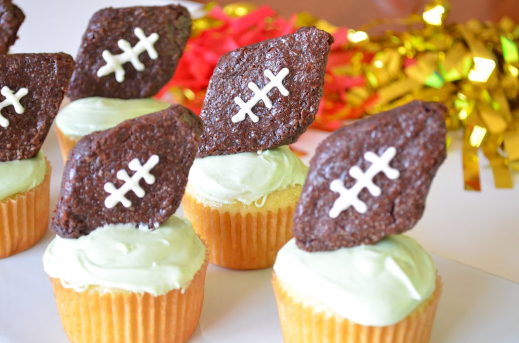 Game Day Football Cupcakes With Foodstirs