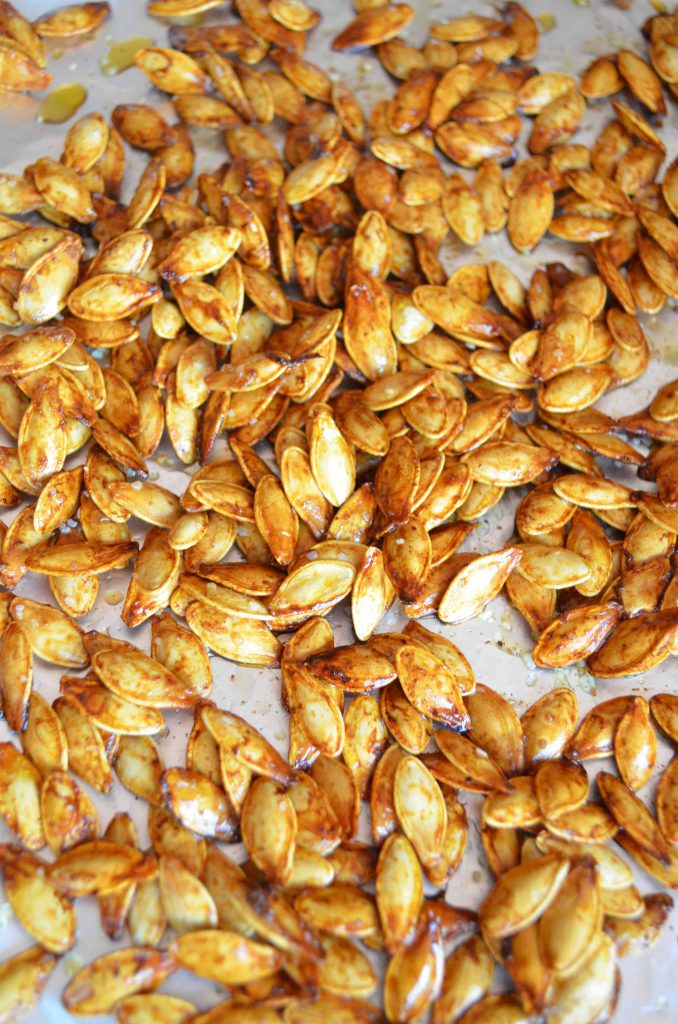 How To Make Roasted Pumpkins Seeds