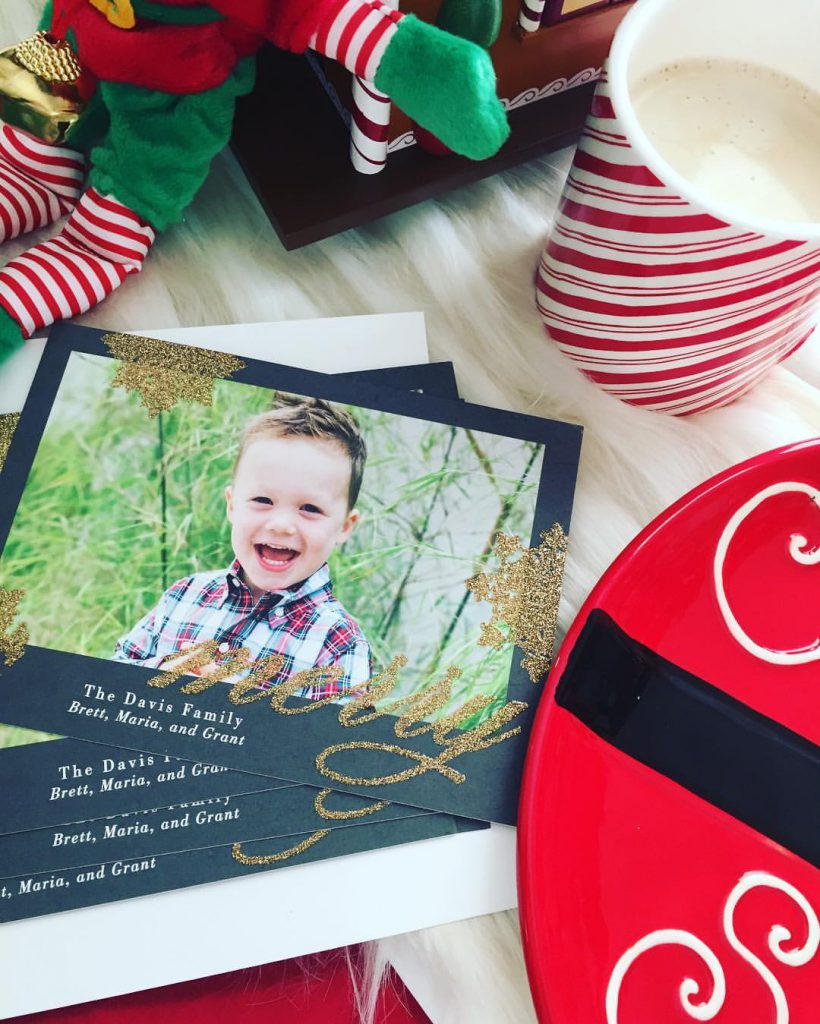 This Year's Christmas Cards With Tiny Prints